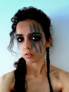 War paint. Vikings inspired