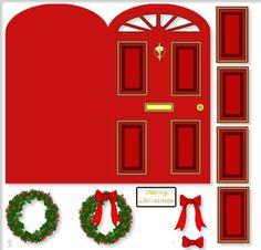 crealolo - Page 484 Christmas Decoupage, 3d Christmas, Christmas Paper Crafts, Homemade Christmas Cards, Christmas Cards To Make, Xmas Cards, Handmade Christmas, Christmas Decorations, Christmas Images