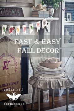 fast-and-easy-fall-decor #EclecticallyFall