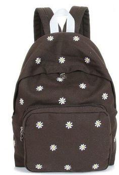 c020d99b388b8 Floral Polka Dot Fashion Design Quality Canvas Backpack 9 Colors