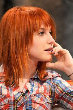 Orange-Brown Hair - Hayley William's Hair Photo (20600427) - Fanpop