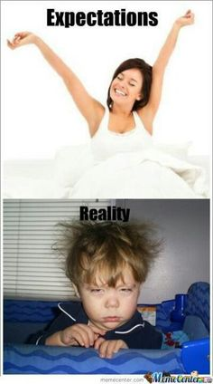 Expectations vs reality :-)
