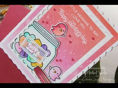 Lawn Fawn Happy Valentine's Day Conversation Hearts - YouTube