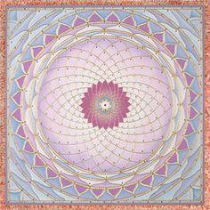 Cotton Candy Mandala