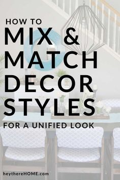 These 4 simple tips will have you mixing different decorating styles like a pro! Interior Decorating Tips, Interior Design Tips, Decorating Ideas, Design Ideas, Home Decor Bedroom, Diy Home Decor, Diy Home Repair, Cool Diy Projects, Home Improvement Projects