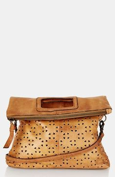 Topshop Perforated Leather Crossbody Bag #style #fashion #accessories