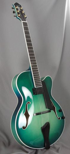 Benedetto 16B in Aqua Marine Burst.  OMFG that color is AMAZING!