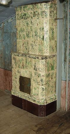 Swedish fireplace, c.1800