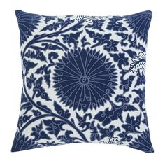 Medallion Navy Pillow 4pc Set – Outfit My Home