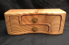 A personal favorite from my Etsy shop https://www.etsy.com/listing/470885110/handcrafted-bandsaw-jewelry-box-made