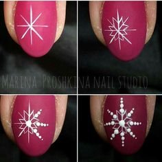 15 Step by Step Winter Nails Art Tutorials for Learners 2018 winter tutorials nails learners Loading. 15 Step by Step Winter Nails Art Tutorials for Learners 2018 winter tutorials nails learners Xmas Nails, Winter Nail Art, Christmas Nail Art, Holiday Nails, Winter Nails, Red Nails, White Christmas, Christmas Snowflakes, Simple Christmas