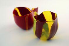 """Handmade Murano Glass Blown Sauce Boat """"KATILU"""""""