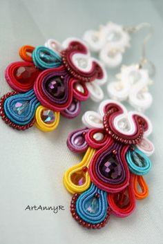 Colorido de la boda Kolorowy ślub Washer Necklace, Jewelry, White Necklace, Wedding, Manualidades, Jewlery, Jewerly, Schmuck, Jewels