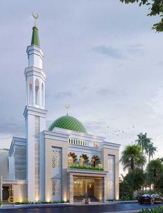 Mosque Architecture, Classical Architecture, Architecture Design, Mecca Kaaba, Pop False Ceiling Design, Architecture Concept Drawings, Beautiful Mosques, House Front Design, Amazing Buildings