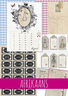 Idees Tydskrif   April 2015 – Ideas/Idees Arts And Crafts, Diy Crafts, Afrikaans, Free Printables, Scrapbook, Projects To Try, Holiday Decor, Ideas Magazine, Babyshower