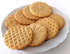 Sencillamente están de muerte estas galletas de vainilla sin huevo y sin leche. Una receta básica que te gustará.