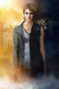 Tris in dauntless and abnegation. She has come a long way