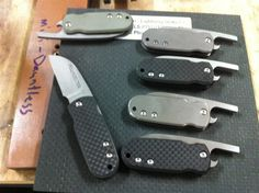 Six Frikky Friction Folders with Bottle Openers