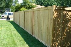 wood privacy fence - need one of these! wood privacy fence - need one of these!