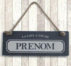 Ardoise « La Cave à Vin de... » Signs, Home Decor, Wine Cellar, Slate, 4 Kids, Stickers, Mom, War, Decoration Home