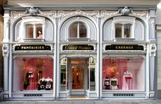 If you go to Paris , must visit this store in 211, Saint Honoré street. It´s a very boudoir-french way to sell lingerie.