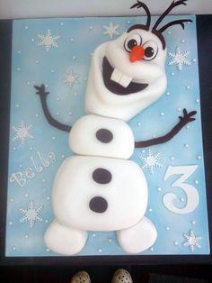 olaf cake | frozen olaf novelty birthday cake