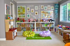 Love this playroom!