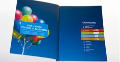 ISPCC - Annual Report by Image Fusion, via Behance