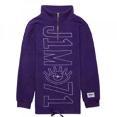 Oversized Half Zip Polar Fleece