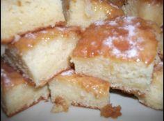Receita de Bolo chá das cincos - bolo quente e polvilhe açucar...se quiser mais calda coloque mais meio vidro de leite de coco ...