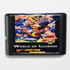 >> Click to Buy << World Of Illusion Starring Mickey Mouse & Donlad Duck 16 bit MD Game Card For Sega Mega Drive For Genesis #Affiliate