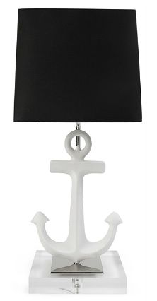 Nursery Notations: Anchor's Away! Love, love, love this new lamp from Jonathan Adler!