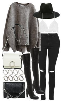 """Untitled #19896"" by florencia95 ❤ liked on Polyvore featuring Topshop, STELLA McCARTNEY, 3.1 Phillip Lim, Stuart Weitzman, Forever 21 and ASOS"