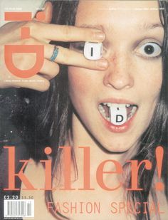 Audrey by Juergen Teller | i-D | The Killer Issue, No. 169, octubre 1997