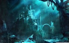 Lost Seraphine - Great representation of the sea king's castle in Aquardia, the home of the Seraphine.