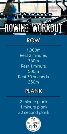 Row, row, row your body fit. With this workout! | Fit Bottomed Girls