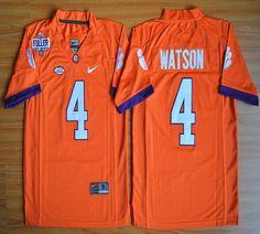 Youth Clemson Tigers DeShaun Watson 4 College Football Jersey - Orange