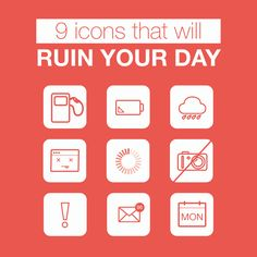 Icons that will Ruin Your Day Create Your Website, Ruin, Website Template, Branding Design, Design Inspiration, Icons, Technology, Templates, Logos