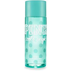 PINK Travel-size Cool & Bright Body Mist (132.960 IDR) ❤ liked on Polyvore featuring beauty products, fragrance, print and travel size perfume