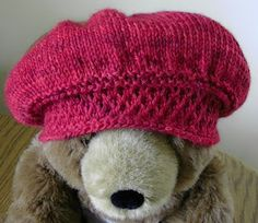 Jane Austen Knits hat pattern
