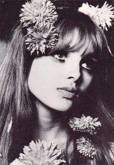 sandysays:    madeline smith for biba, 1967