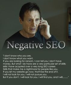 Learn about negative SEO and how to beat it. Know What You Want, Know Who You Are, Told You So, Seo, Digital Marketing, Knowledge, Names, Social Media, Humor