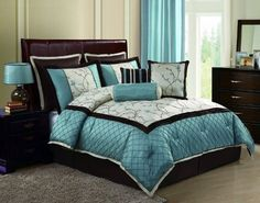 http://leelectricals.com/wp-content/uploads/2014/02/Lovely-Black-And-Turquoise-Bedding.jpg