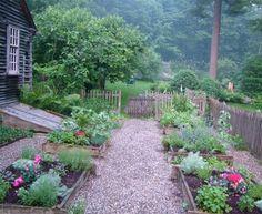 {the vintage wren}:: potager garden