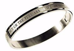 Bangle-Armor of God (Eph 6:11) (Mens) Sz 8, Bracelet