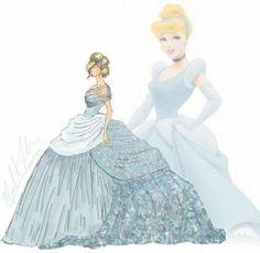 Ce designer remet les robes de princesses Disney au goût du jour