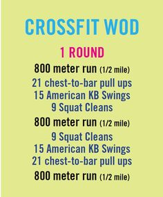 Did this the other day... didnt do pull ups... subbed with push ups... did circuit 4x.. burned 900 cals