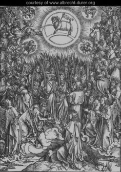 Many believers today are distracted by events surrounding the building of a temple in Jerusalem, while neglecting the spiritual temple taught and described by Jesus and the writers of the New Testament. #EndTimes #BiblicalProphecy - The Revelation of St John, 13. The Adoration of the Lamb and the Hymn of the Chosen, Albrecht Durer (1471-1528)  Source: Albrecht Durer the Complete Works