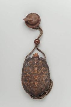 Three-case inro in the form of a tortoise | Museum of Fine Arts, Boston