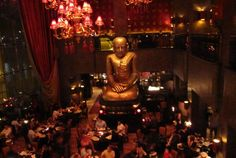 Buddha Bar Dubai - This place just oozes opulence... The food is fantastic..the massive Buddha statue is just an extra plus!